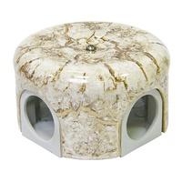 Распаечная коробка d 78 mm цвет мрамор