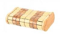 Подголовник деревянный, амортизируемый бамбук