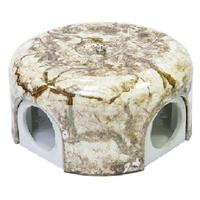 Распаечная коробка d 90 mm цвет мрамор