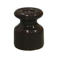 Изолятор керамика коричневый