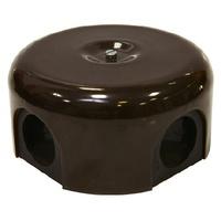 Распаечная коробка d 90 mm цвет коричневый