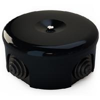 Распаечная коробка d 90 mm цвет чёрный