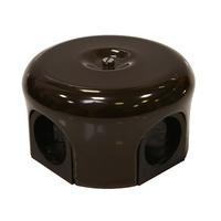 Распаечная коробка d 78 mm цвет коричневый