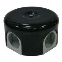 Распаечная коробка d 78 mm цвет чёрный