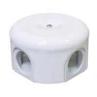 Распаечная коробка d 78 mm цвет белый