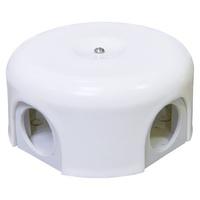 Распаечная коробка d 90 mm цвет белый