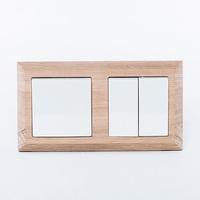 Basic 55. Двухместная рамка на плоскость