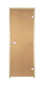 Дверь для сауны Harvia 700х1900 осина/бронза