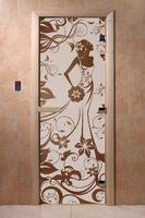 Девушка в цветах бронза матовая