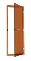 Дверь для сауны Sawo 700х1900 кедр/бронза