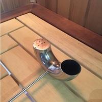 Ковш для бани U-образный с лейкой