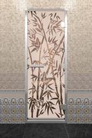 DoorWood Бамбук и бабочки матовая