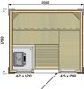 Rubic S2118RC (2080 х 1780)мм