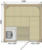 Rubic S2121RC (2080 х 2080)мм