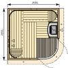 Rondium S2222KL (2195 х 2195)мм