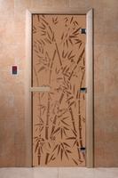 Бамбук и бабочки бронза матовая