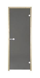 Дверь для сауны Harvia 700х1900 осина/серое
