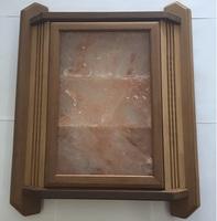 Абажур (угловой) термоосина и гималайская соль